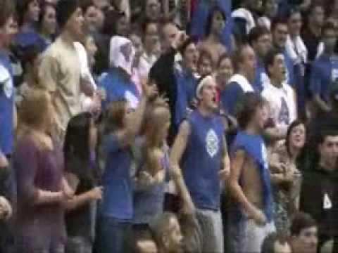 American University President Neil Kerwin Shoots Free Throws