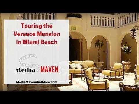Versace Mansion Tour [in Miami Beach]