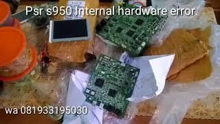 Service DM keyboard yamaha psr s950 internal hardware error
