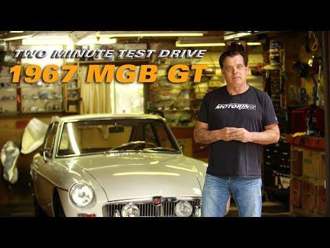 1967 MGB GT - 2 Minute Test Drive