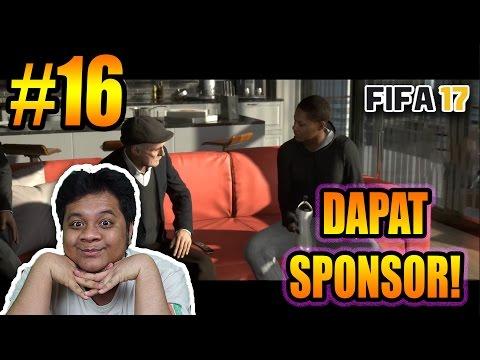 FIFA 17 The Journey (16) DAPAT SPONSOR!! :D