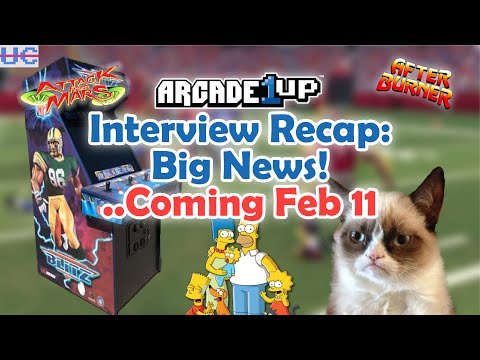 Arcade1up Halftime Special Recap: NFL Blitz seems far away but is Simpsons around the corner? from Unqualified Critics