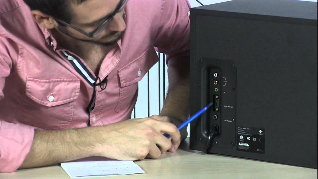 TigerDirect TV  Logitech Z623 Speaker System  YouTube