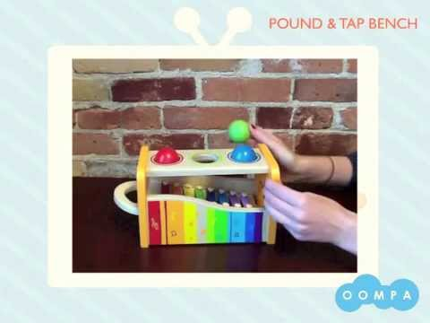 Pound And Tap Bench Xylophone by Hape