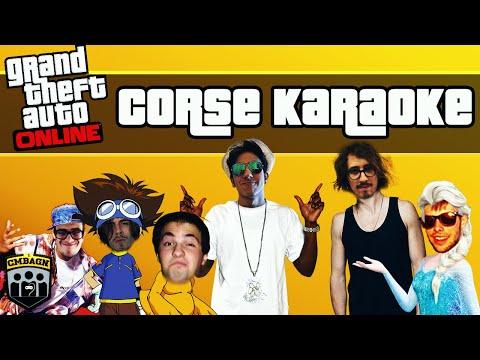 GTA 5 - CORSE KARAOKE: Ep. 3 [PS4]