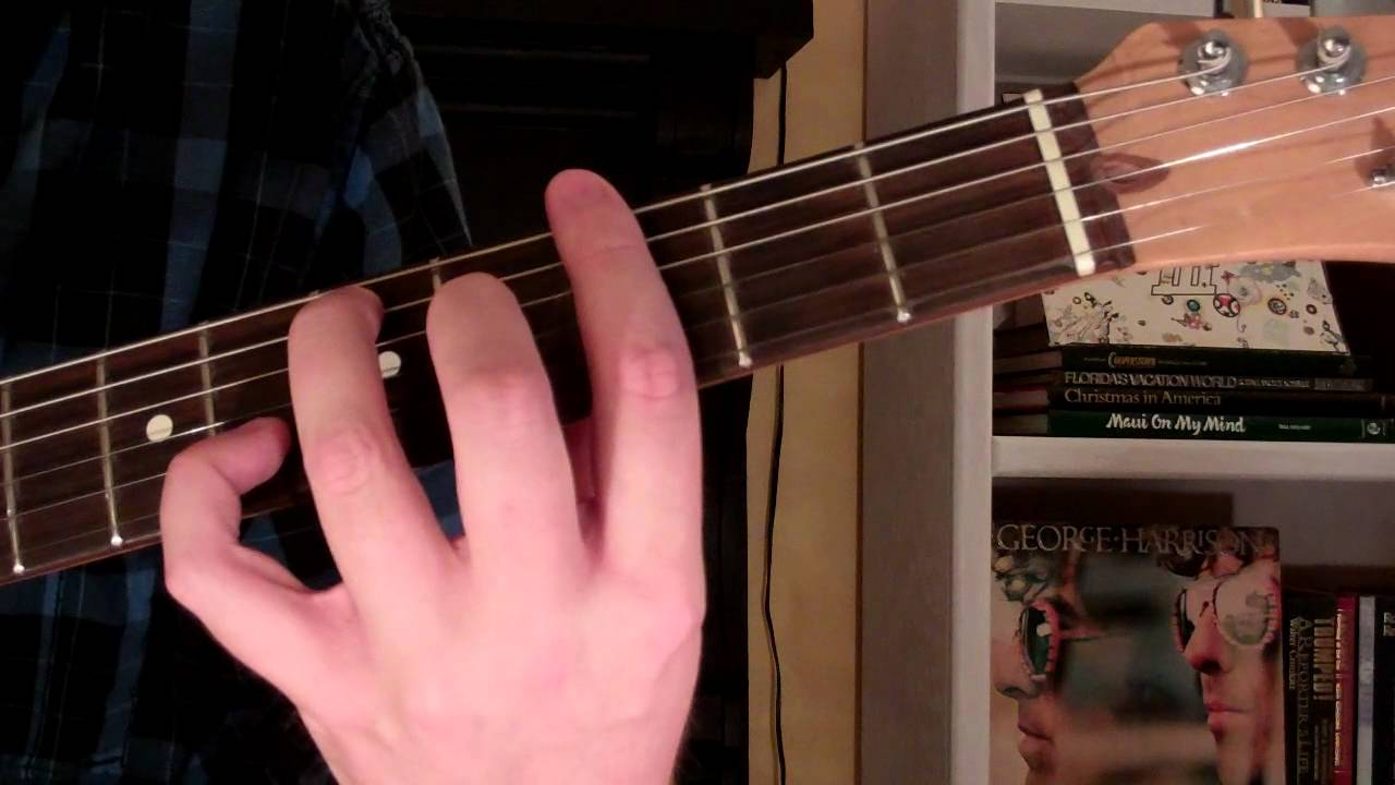 How To Play The G7 Chord On Guitar G Seventh 7th Youtube