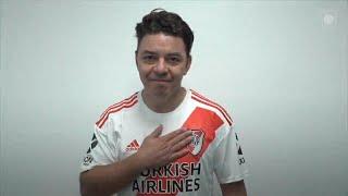 Gallardo le pone la voz a un video por el cumpleaños 119 del club River Plate