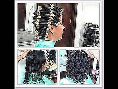Pt 3 Of 4 How To Perm At Home Spiral Basic And