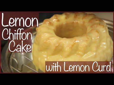 How to Make a Lemon Chiffon Cake // The Spicy Kitchen