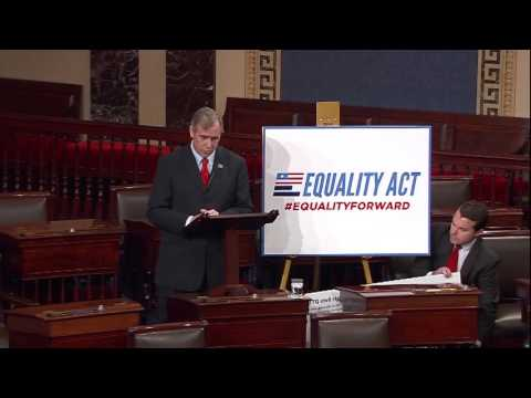 Senator Merkley Advocates for the Equality Act