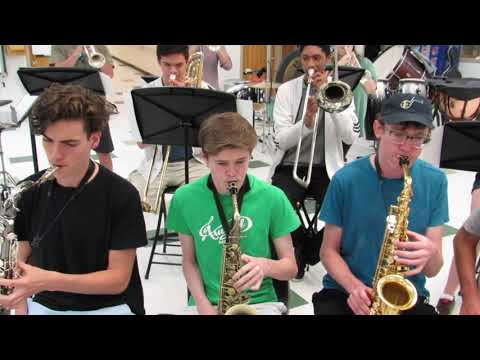 Quest of the Red Knight  Recorded by Arundel High School Jazz Ensemble
