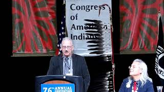 NCAI 2019 NATIONAL CONGRESS OF AMERICAN INDIANS  O J  Stevens   Native Vote