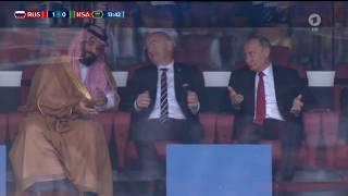 Putyin reakciója a VB első orosz góljára mindent visz! (Putin Meme - First Goal)