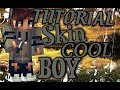 TUTORIAL: Skin Cool Boy (Pixel Gun 3D)-Free Copy