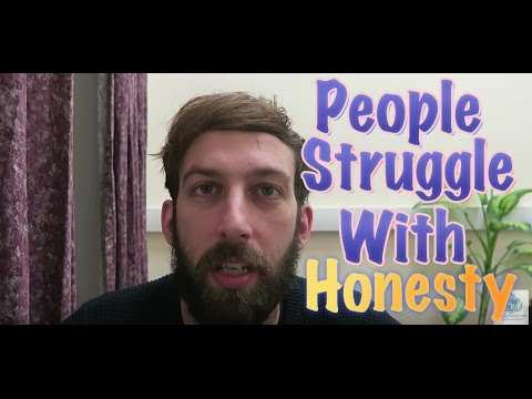 Download Youtube: People Struggle To Be Honest
