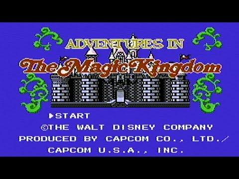 Disney's Adventures in The Magic Kingdom - NES Gameplay