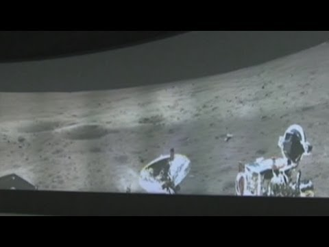 China releases panoramic photo of moon rover landing zone