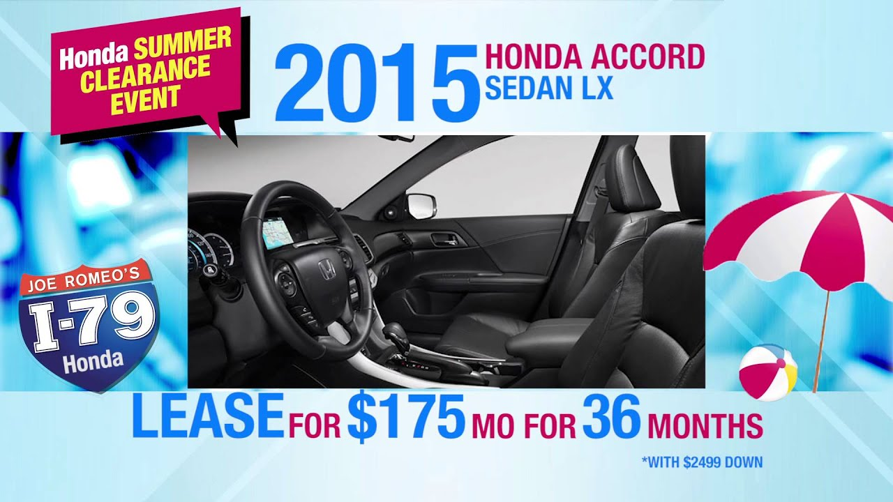 I79 Honda Accord - YouTube