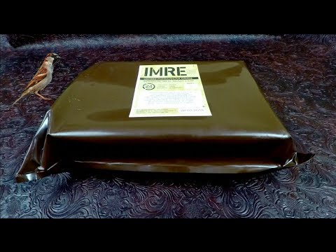 MRE Review Tasting Czech IMRE 24H Ration Featuring Moravian Sparrow !!!