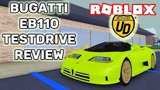 BUGATTI EB110 TESTDRIVE REVIEW!! | Ultimate Driving (ROBLOX)
