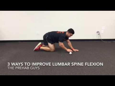 3 ways to improve lumbar spine flexion mobility