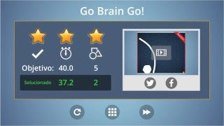 brain it on level 57 walkthrough 3 stars in 2 movements