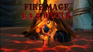 Fire Mage PvP 3.3.5 WoW Movie/Фаер маг пвп 3.3.5