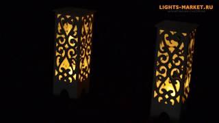 Свадебные тумбы с подсветкой