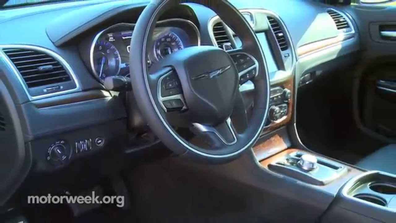 MotorWeek | First Look: 2015 Chrysler 300 - YouTube