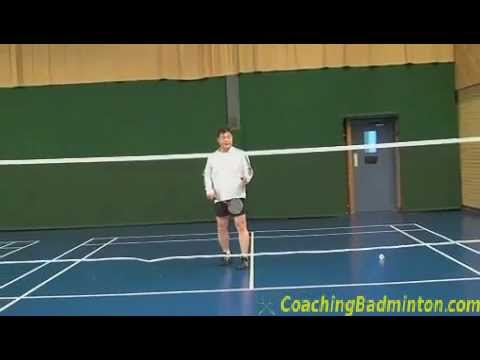how to return high serve in badminton