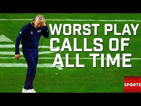 Worst Play Calls in Sports History   Where Does Pete Carroll's Call Rank?