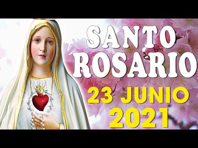 ✋SANTO ROSARIO DE HOY MIÉRCOLES DE 23 DE JUNIO 2021🌷MISTERIOS GLORIOSOS🌺Alabanzade Dios