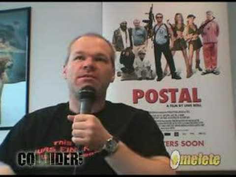 "Uwe Boll: ""Postal"" Interview"
