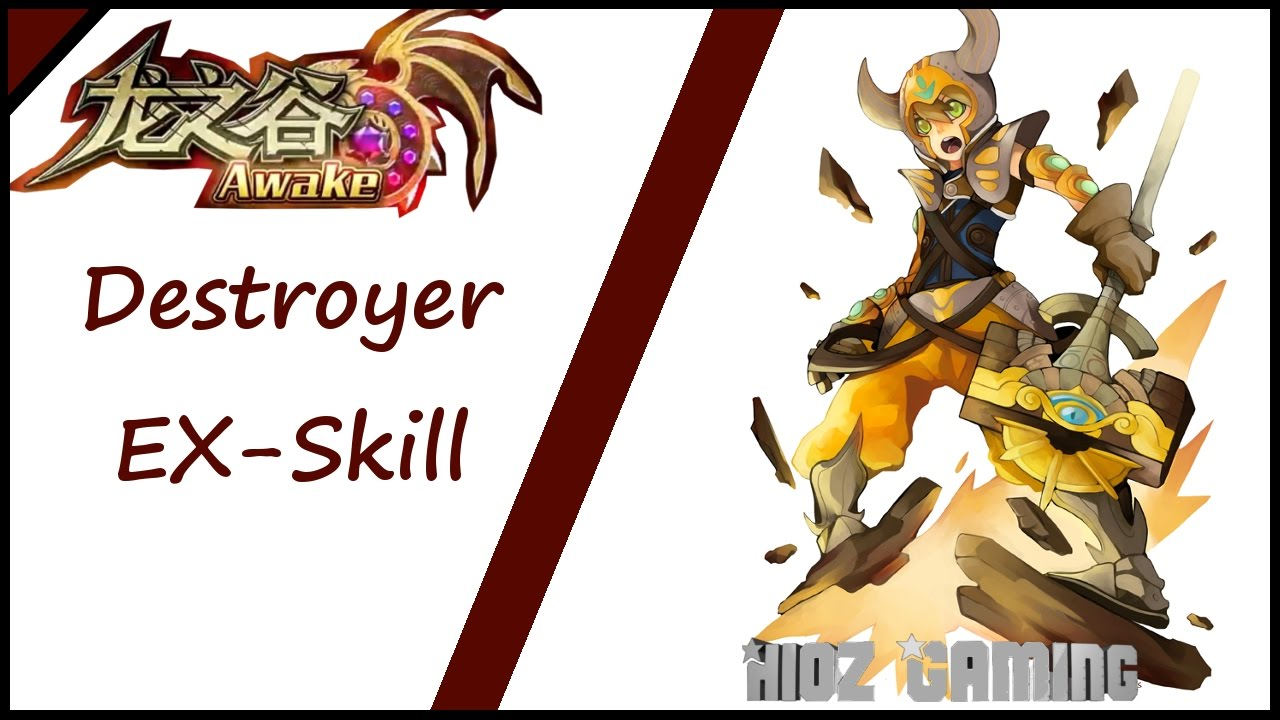 Dragon Nest Destroyer Skill Build