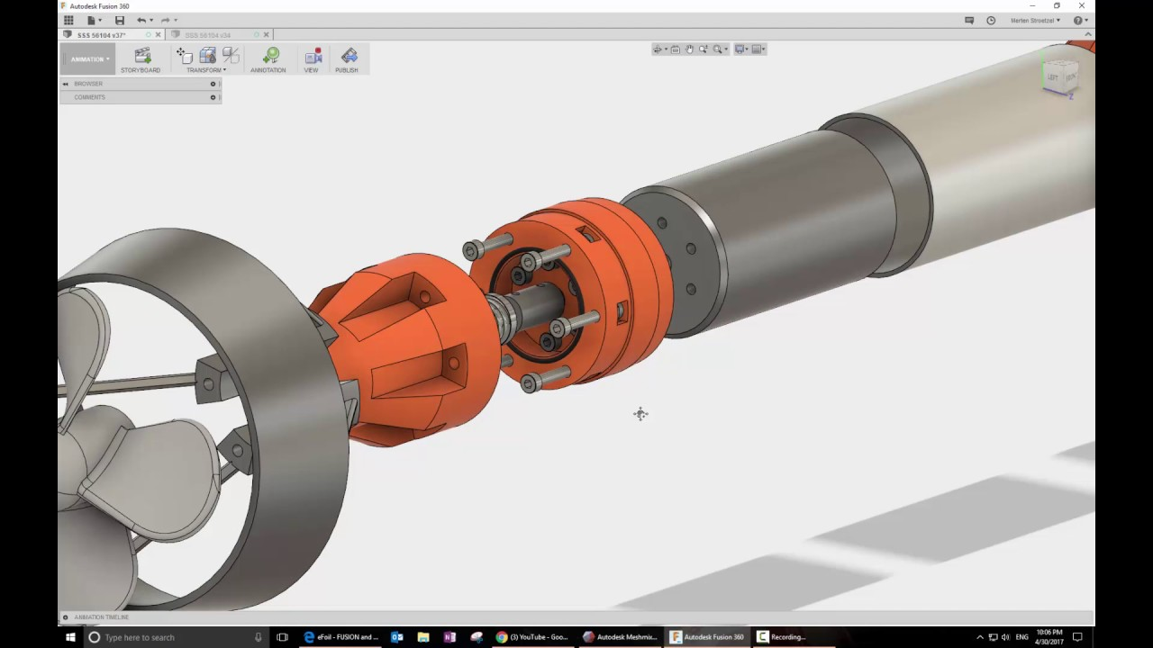 Diy Electric Hydrofoil Part 2 Design Update Youtube