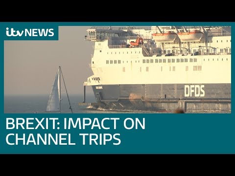 Will Brexit make travelling from Dover to Calais a lot more difficult? | ITV News