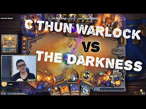 Amaz Dungeon Run - C'Tun Warlock vs The Darkness
