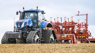 Potatoes planting | NEW HOLLAND tractors & GRIMME GL860 | farming