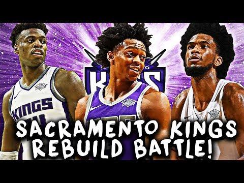 TOUGHEST TEAM TO FIX! SACRAMENTO KINGS REBUILD BATTLE! NBA 2K19 MY LEAGUE