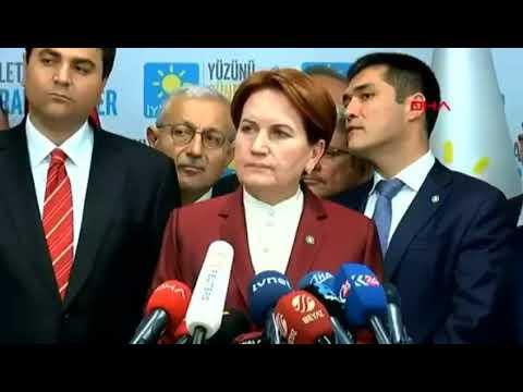 Meral Akşener - Seçim Sonrası Konuşması 26.06.2018 - Seçim Sonuçlarını Değerlendiriyor