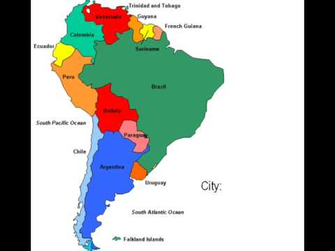 south america interactive map youtube