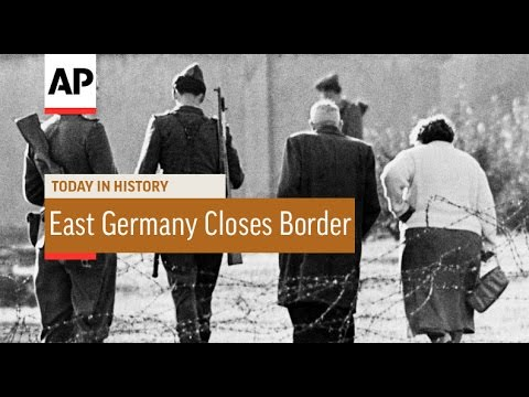 East Germany Closes Border - 1961  | Today in History | 13 Aug 16