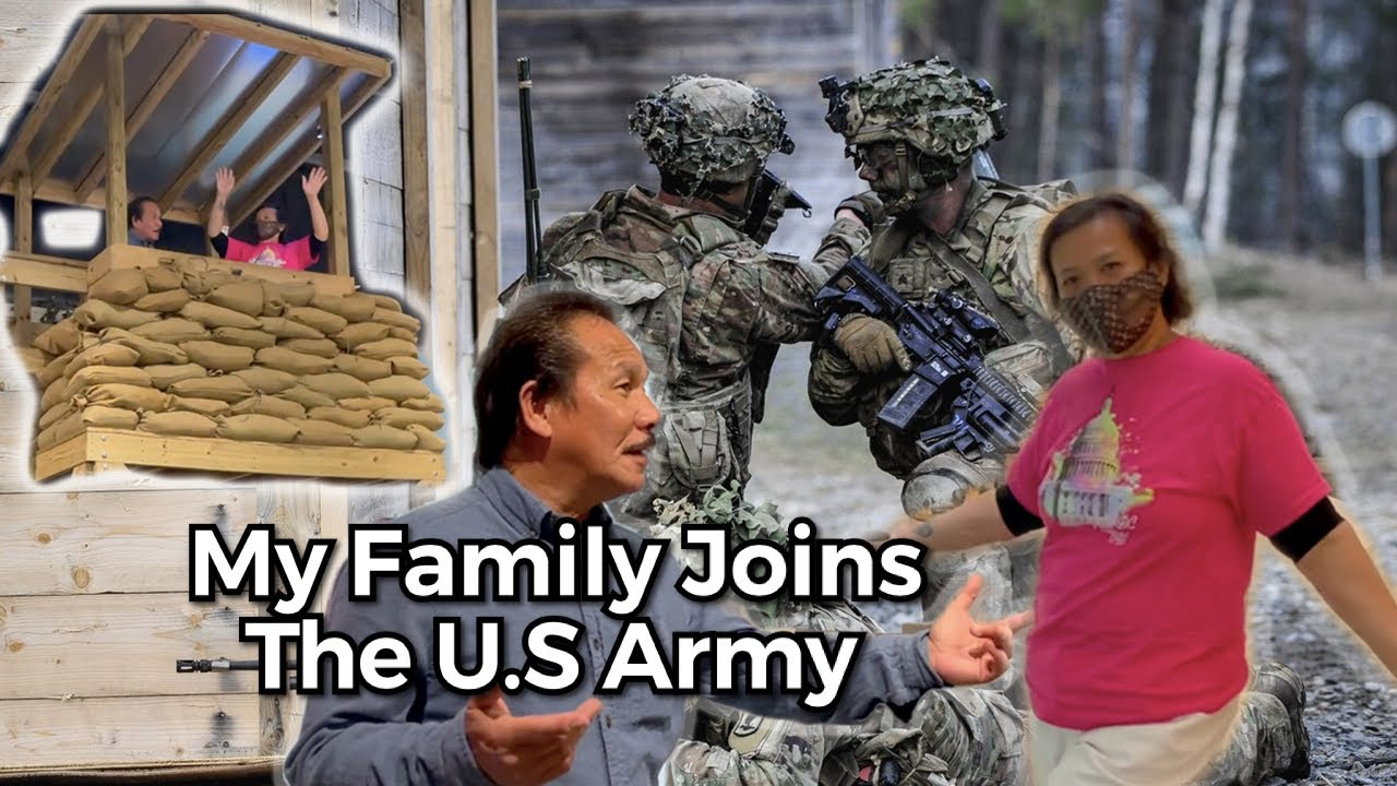 My Family Joining the U.S Army
