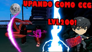 ROBLOX Ro-Ghoul: SPECIAL 10 MINUTES UPANDO AS CCG! #NARUTO10K