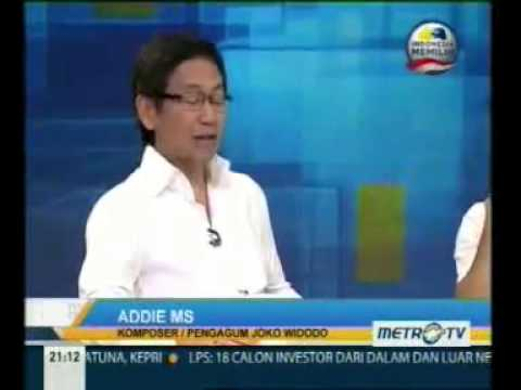 Ahmad Dani, Addie MS, dr Tompi, dukung JOKOWI @mata najwa Mp3