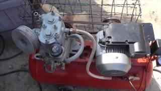 Самодельный компрессор на базе зил 130.