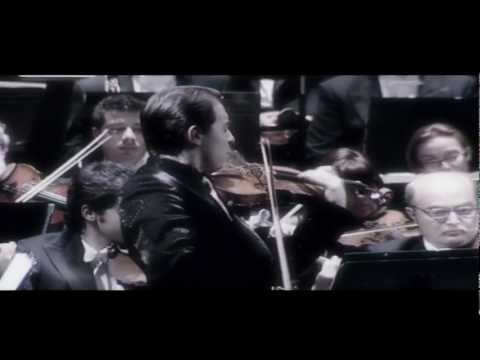 Geza performing Bruch Violin Concerto - Live from Spain - Television Excerpts