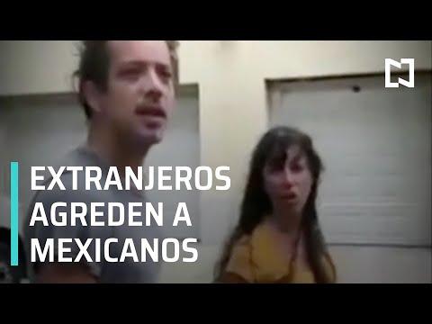 Extranjeros agreden a mexicanos, se oponían al derribo de un árbol, en la CDMX - Paralelo 23