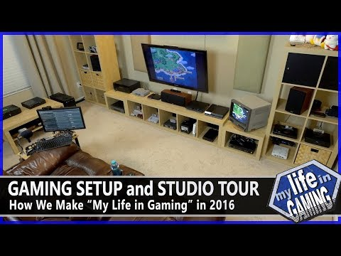 Gaming Setup and Studio Tour :: Behind the Scenes - MY LIFE IN GAMING