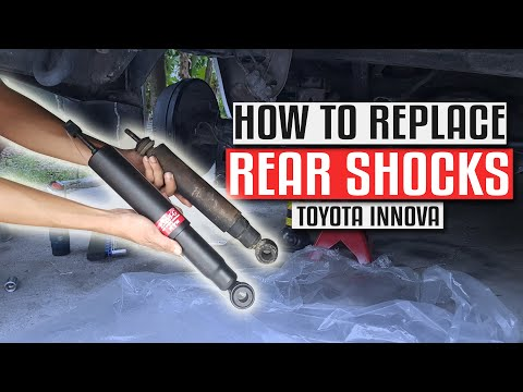 DIY Rear Shock Replacement for Toyota Innova & Fortuner